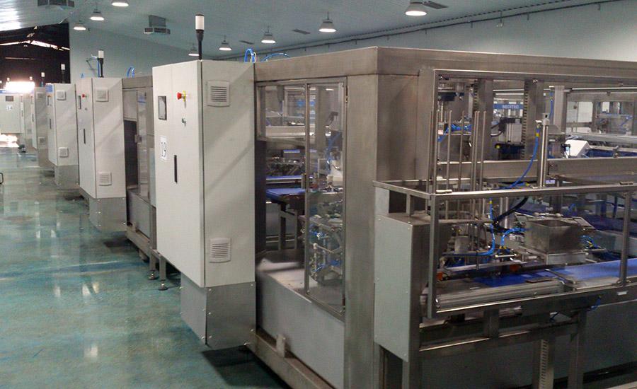 Instalada una novedosa planta de packaging en la empresa 'Inés Rosales' para el liado de productos de repostería