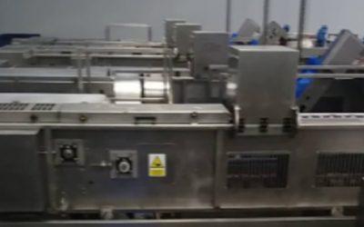 Nueva línea de desrabado de fresas del nuevo modelo de máquina MCF-500